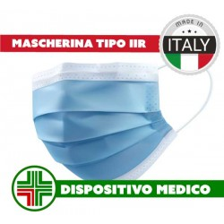 mascherina chirurgica made in Italy tipo IIr