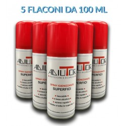 5 pezzi Spray igienizzante superfici